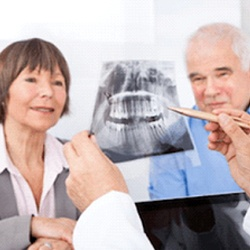 3-D image of Implant Supported Dentures